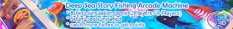 Deep Sea Story Fishing Arcade Machine 6 Players (Fishing Reel Version)