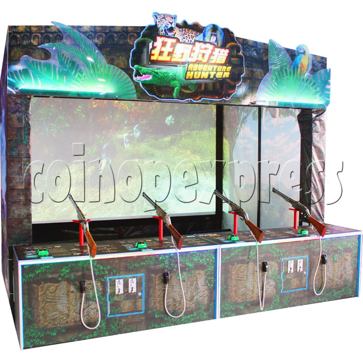 Adventure Hunter Shooting Arcade Game (4 players) 34670