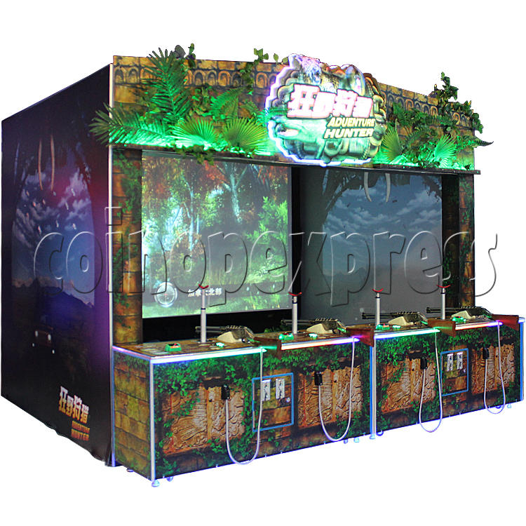 Adventure Hunter Shooting Arcade Game (4 players) 34671