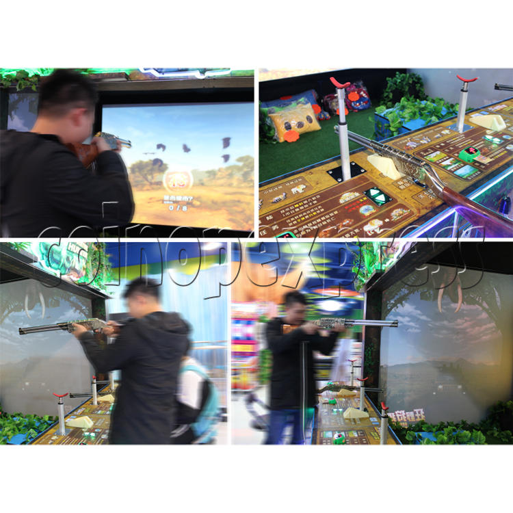 Adventure Hunter Shooting Arcade Game (4 players) 34673