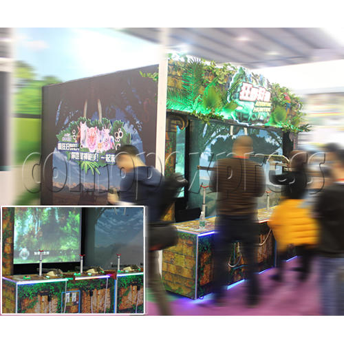 Adventure Hunter Shooting Arcade Game (4 players) 34674