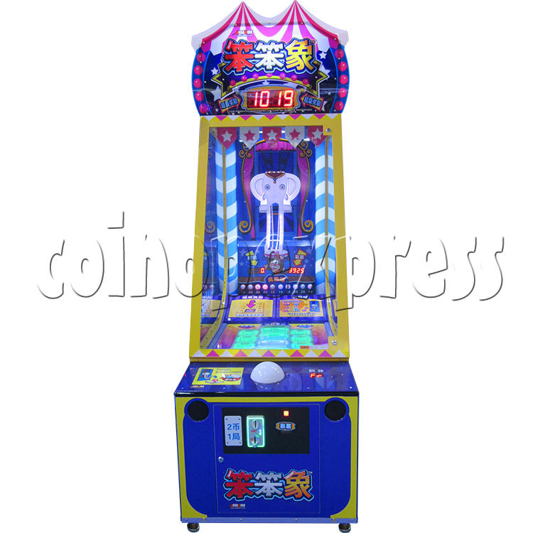 Circus Ball Drop Skill Test Redemption Machine 34820