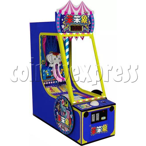 Circus Ball Drop Skill Test Redemption Machine 34821