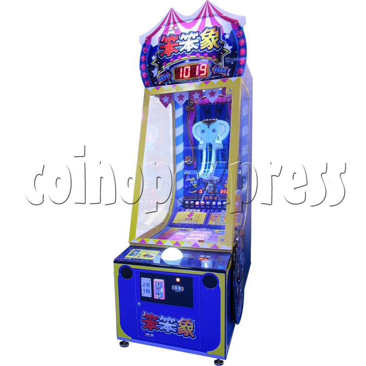 Circus Ball Drop Skill Test Redemption Machine 34822