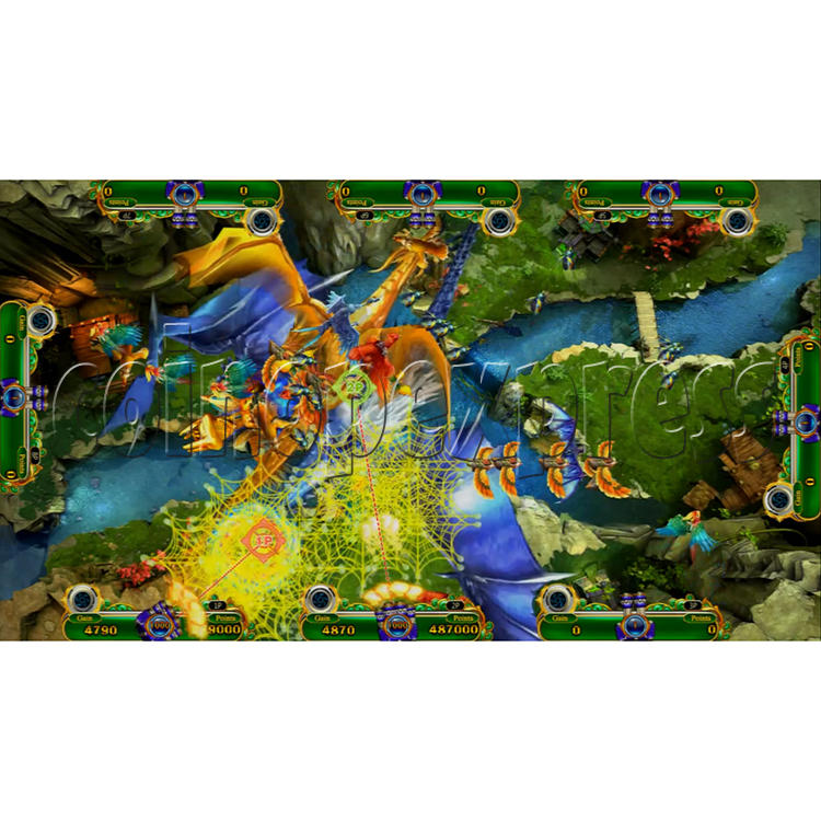 Mystic Dragon 2 Redemption Arcade Game Full Gameboard Kit-game play-11