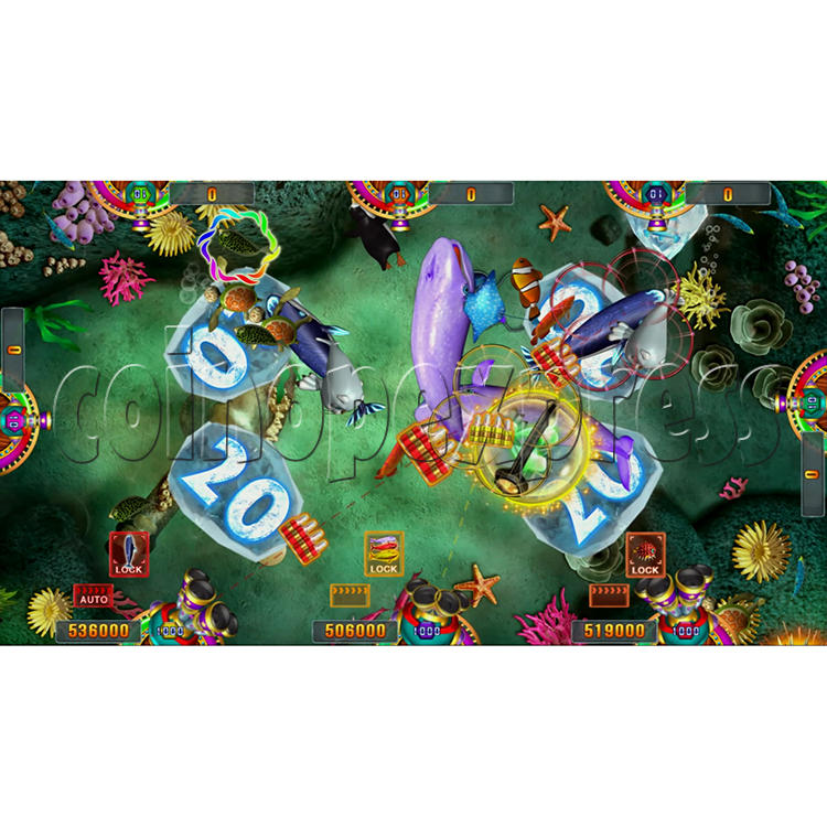 Seafood Paradise 3 USA Edition Fishing Game Full Game Board Kit - screen display - 5