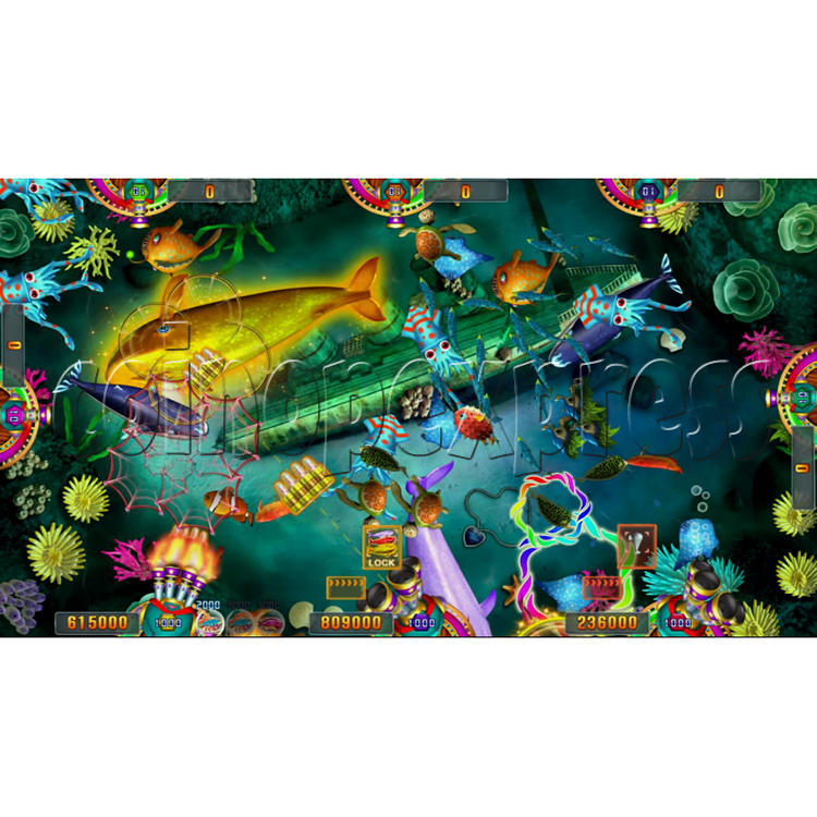 Seafood Paradise 3 USA Edition Fishing Game Full Game Board Kit - screen display - 7