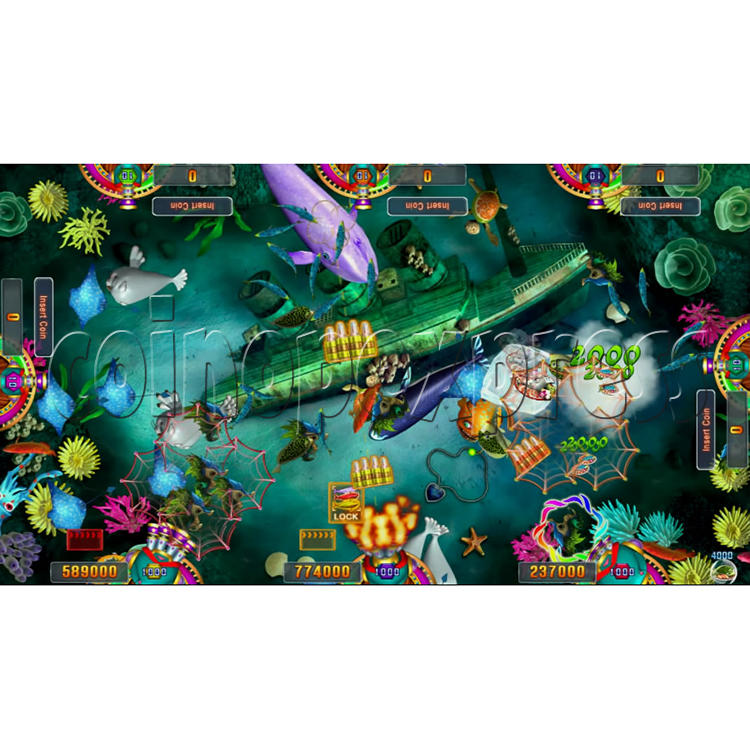 Seafood Paradise 3 USA Edition Fishing Game Full Game Board Kit - screen display - 9