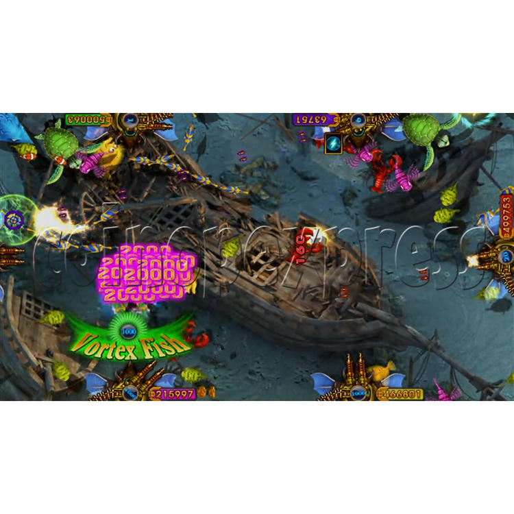 King of Treasures Plus Fish Hunter Game Full Game Board Kit China Release Version - game play-1
