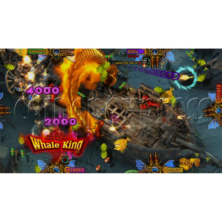 King of Treasures Plus Fish Hunter Game Full Game Board Kit China Release Version - game play-3