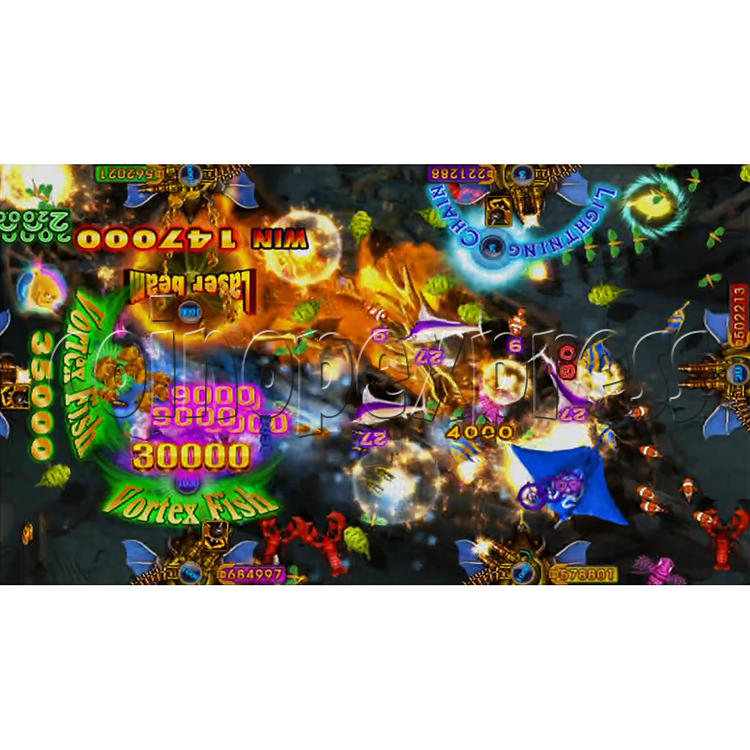 King of Treasures Plus Fish Hunter Game Full Game Board Kit China Release Version - game play-4