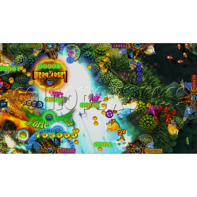 King of Treasures Plus Fish Hunter Game Full Game Board Kit China Release Version - game play-7