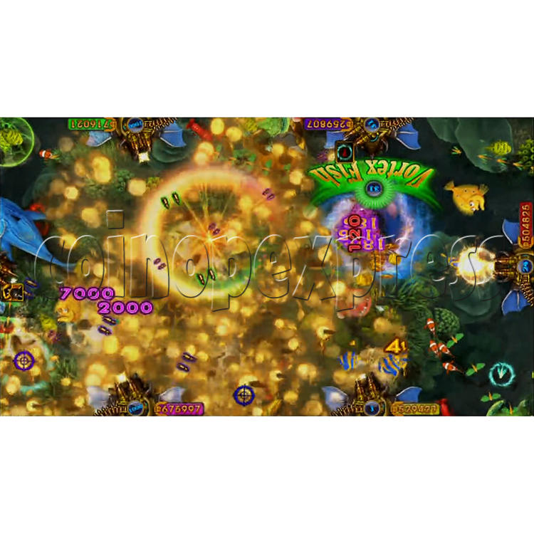 King of Treasures Plus Fish Hunter Game Full Game Board Kit China Release Version - game play-9