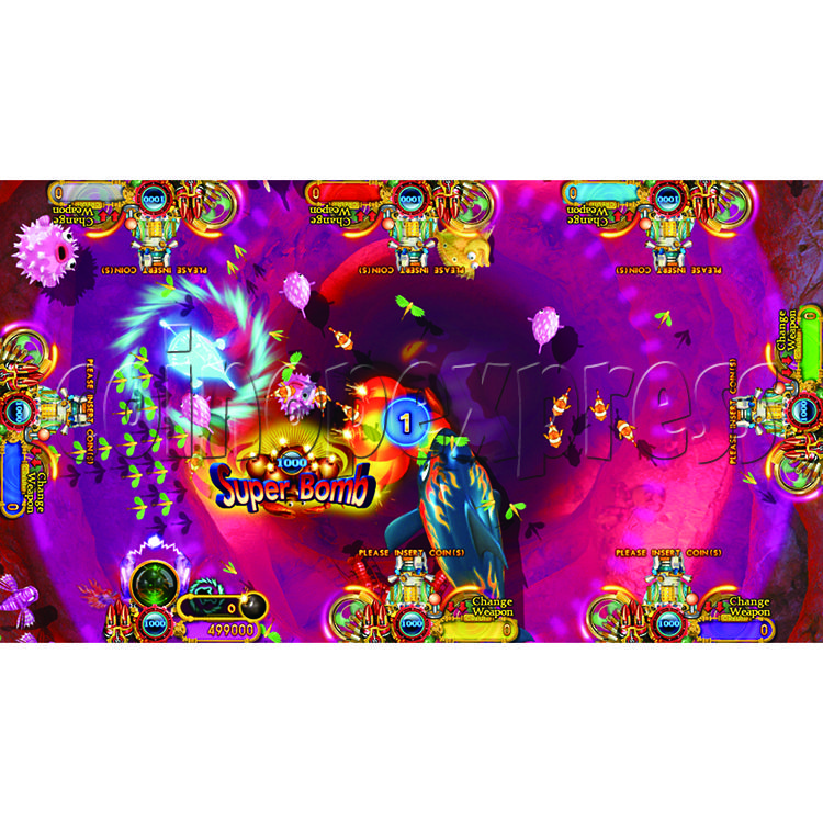 Ocean King 2 Thunder Dragon Video Redemption Fish Hunter Full Game Board Kit China Release Version - game play-18