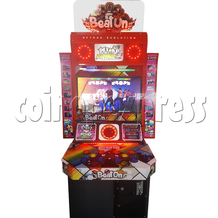 Beat On With Pump It Up Infinity 2017 Dance Game Machine 35710