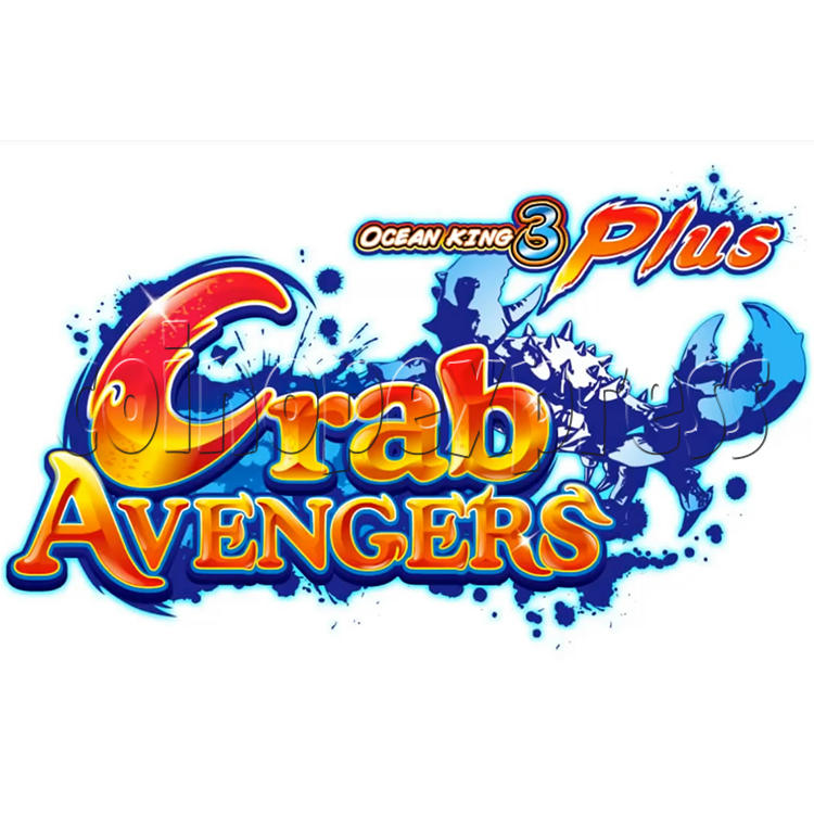 Ocean King 3 Plus Crab Avengers Video Fish Hunter Full Game Board kit - game logo