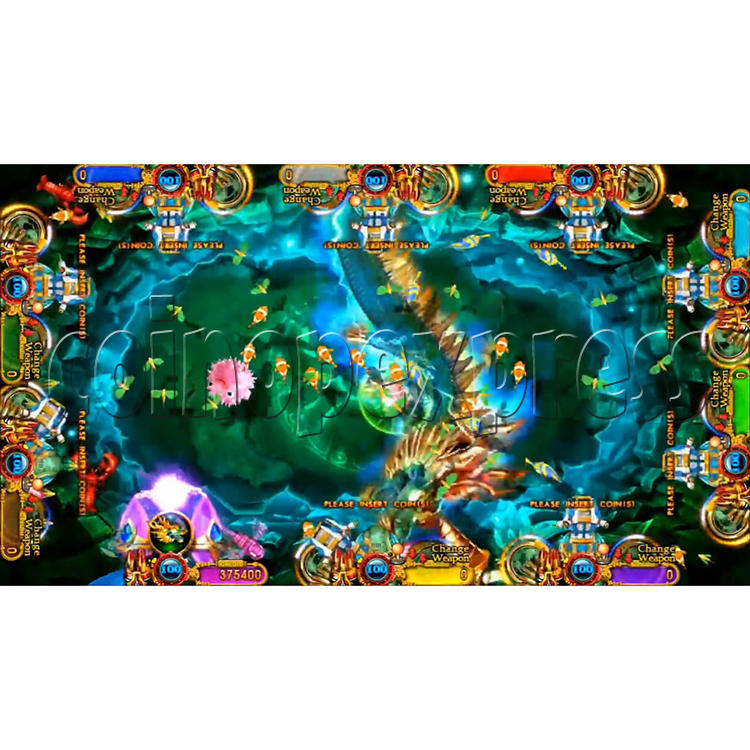 Ocean King 3 Plus Crab Avengers Video Fish Hunter Full Game Board kit - screen display - 12