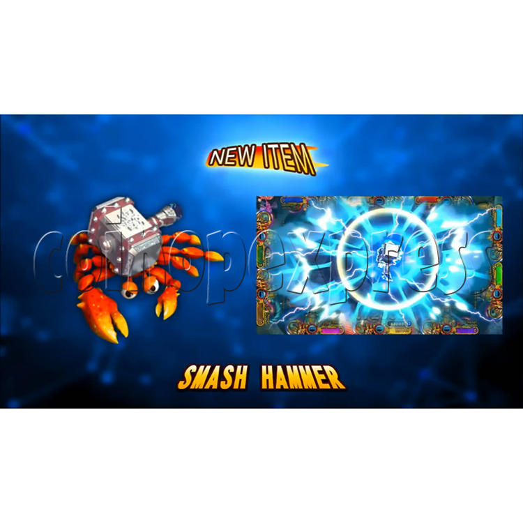 Ocean King 3 Plus Crab Avengers Video Fish Hunter Full Game Board kit - screen display - 8