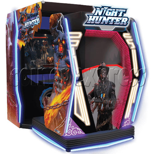 Night Hunter 4D Simulator Arcade Machine 36272