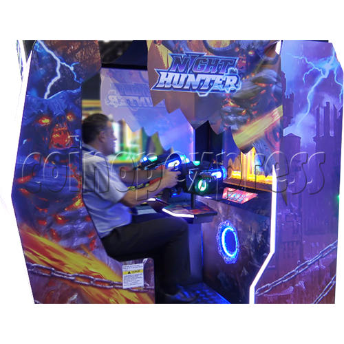 Night Hunter 4D Simulator Arcade Machine 36290