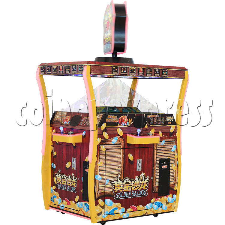 Golden Saloon Holographic Projection Redemption Machine 36321