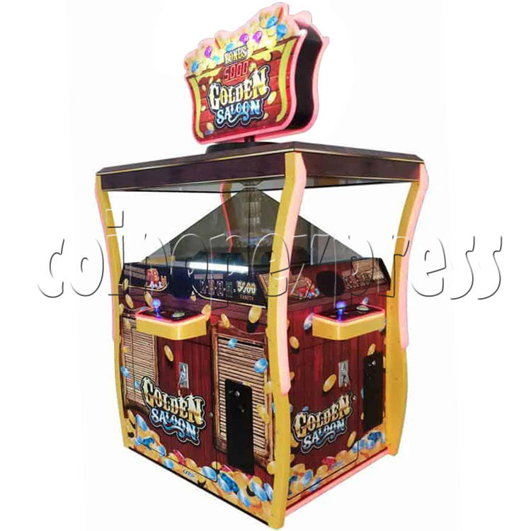 Golden Saloon Holographic Projection Redemption Machine 36322