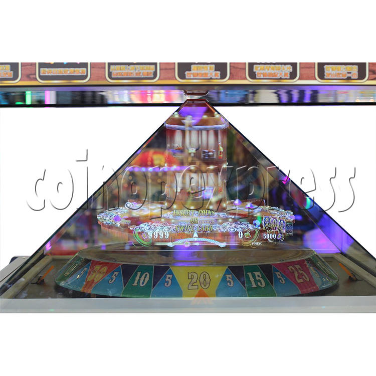 Golden Saloon Holographic Projection Redemption Machine 36324