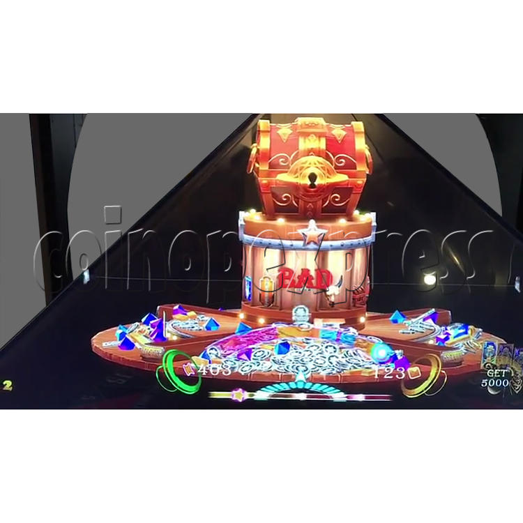 Golden Saloon Holographic Projection Redemption Machine 36329