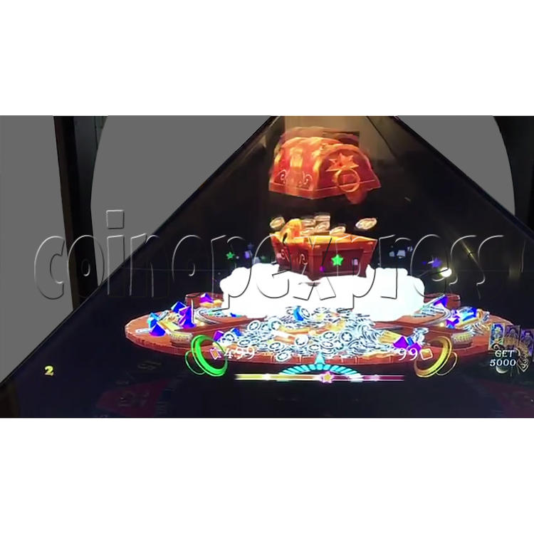 Golden Saloon Holographic Projection Redemption Machine 36330