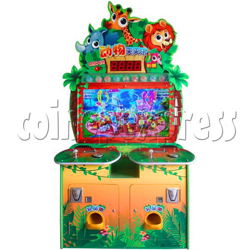 Animals Castle Virtual Prize Grabbing a Win Machine  36459