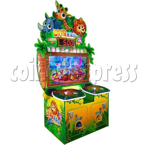 Animals Castle Virtual Prize Grabbing a Win Machine  36460
