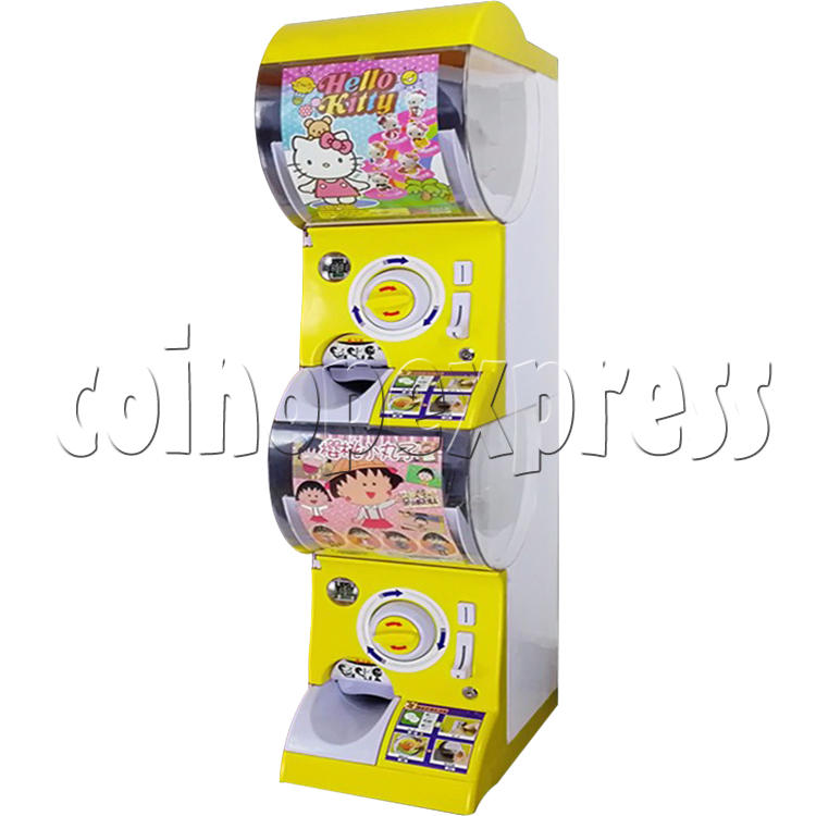 Intelligent Recognize Scan Code Double Toy Capsule Vending Machine 36817