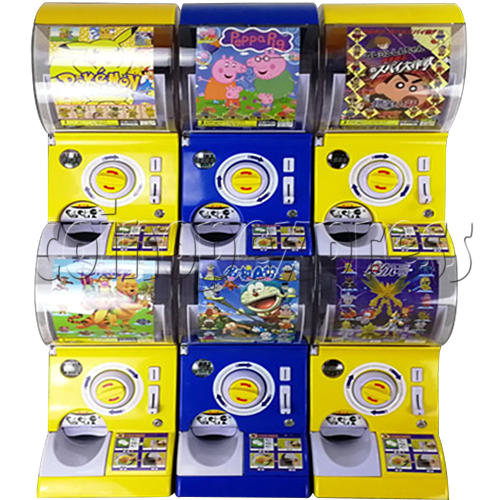 Intelligent Recognize Scan Code Double Toy Capsule Vending Machine 36820