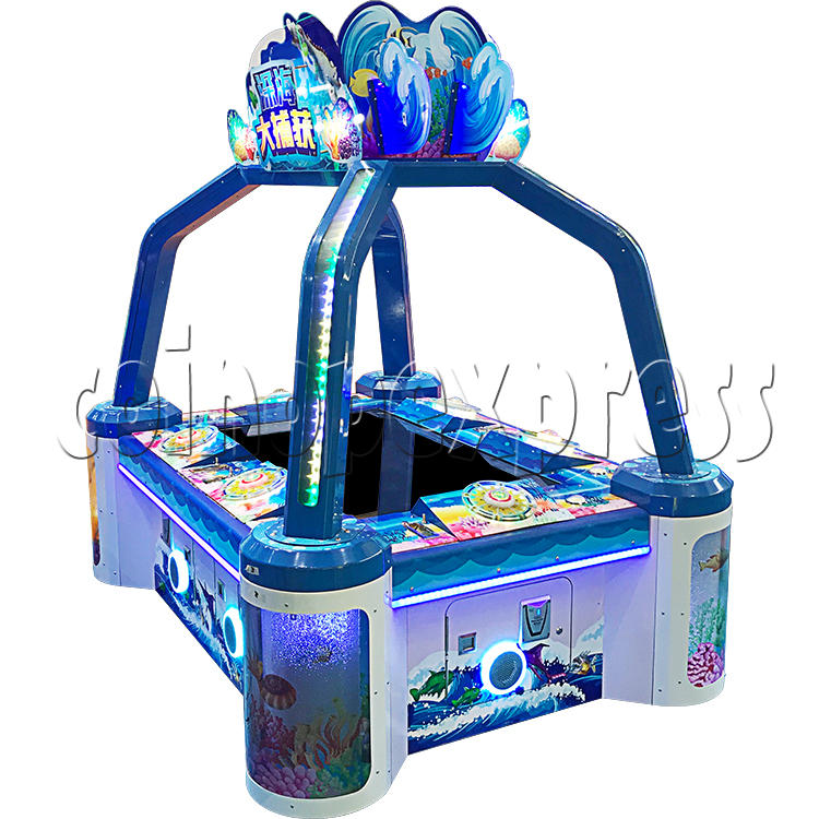 Deep Sea Capture Fishing Ticket Redemption Machine ( 6 players) 37008