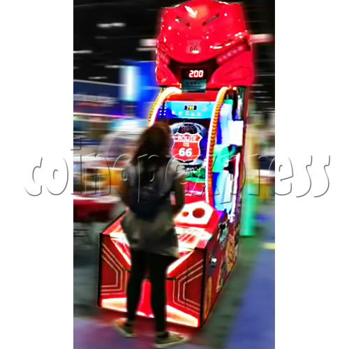 Route 66 Wheel Game Ticket Redemption Machine with 42 inch screen  37067