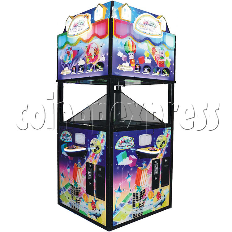 Fantasy Space Holographic Style Redemption Game machine 37172