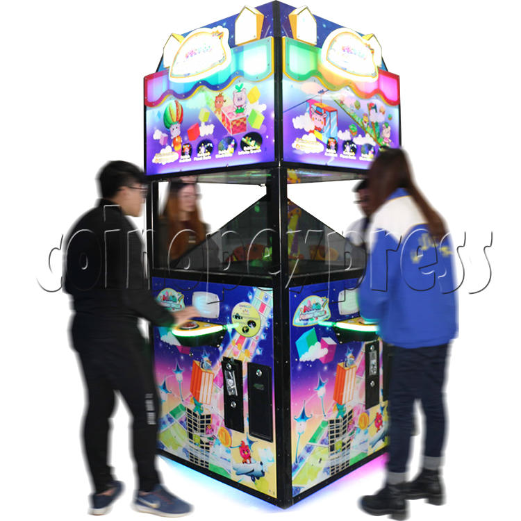 Fantasy Space Holographic Style Redemption Game machine 37175