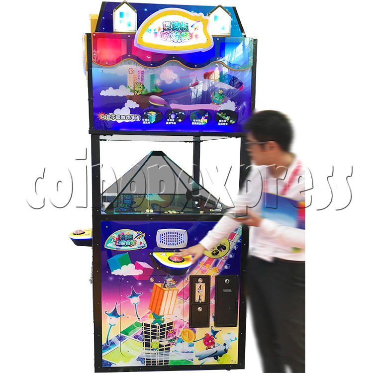 Fantasy Space Holographic Style Redemption Game machine 37176