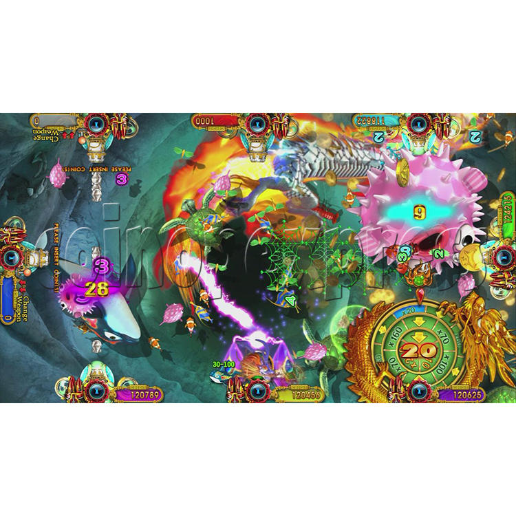 Ocean King 3 Plus Crab Avengers Full Game Board Kit China Release Version - screen display-15