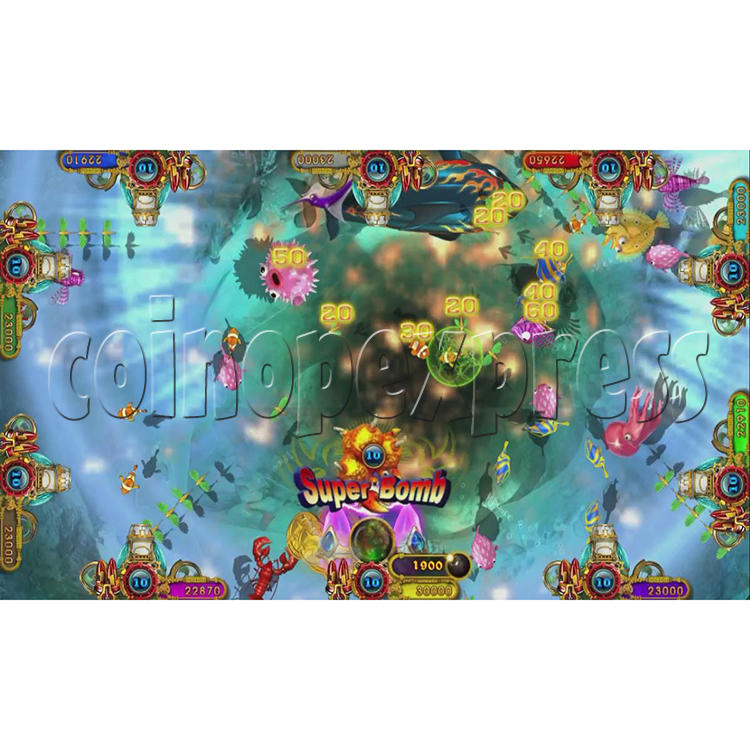 Ocean King 3 Plus Crab Avengers Full Game Board Kit China Release Version - screen display-18