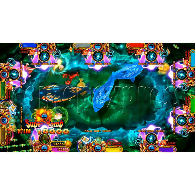 Ocean King 3 Plus Crab Avengers Full Game Board Kit China Release Version - screen display-6