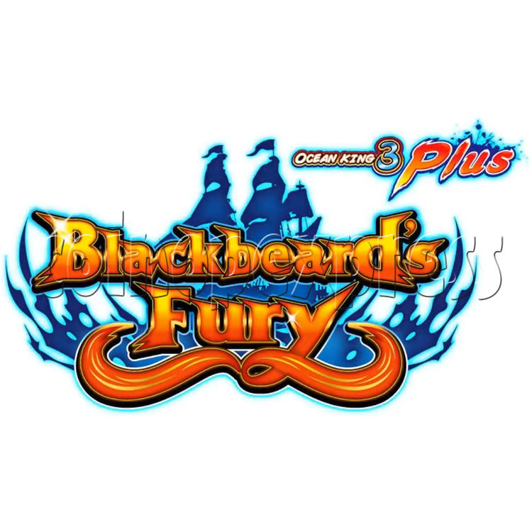 Ocean King 3 Plus Blackbeard Fury Game Board Kit China Release Version - game logo