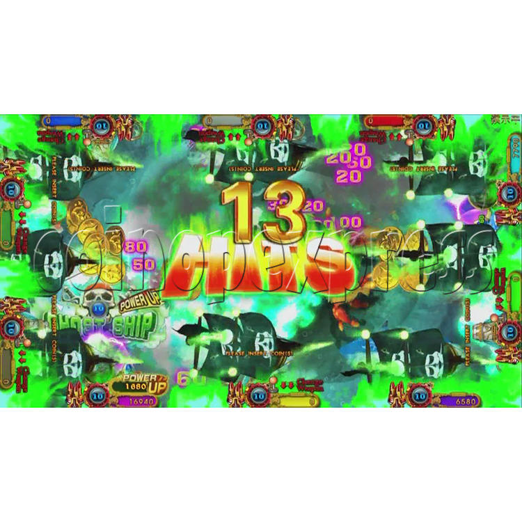 Ocean King 3 Plus Blackbeard Fury Game Board Kit China Release Version - screen display-14