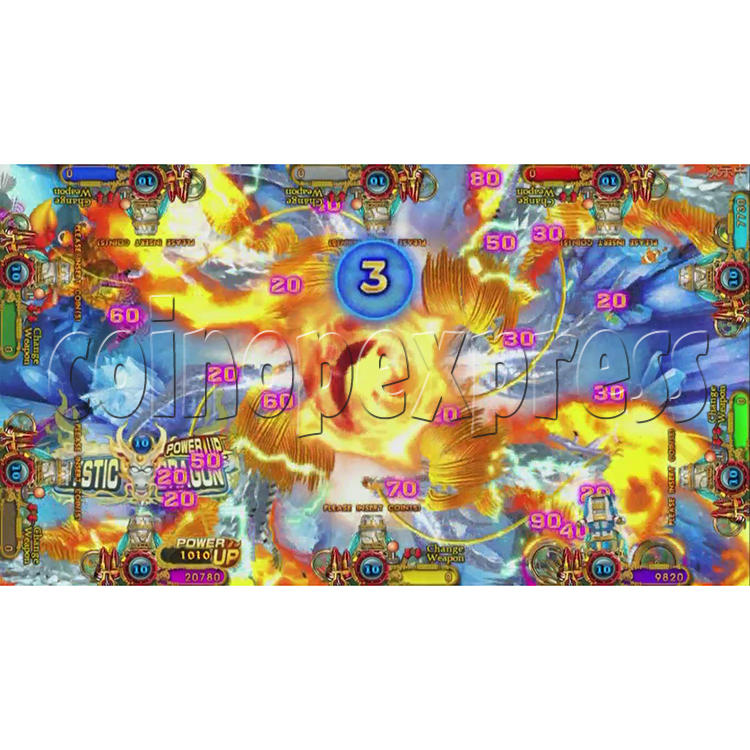 Ocean King 3 Plus Blackbeard Fury Game Board Kit China Release Version - screen display-17