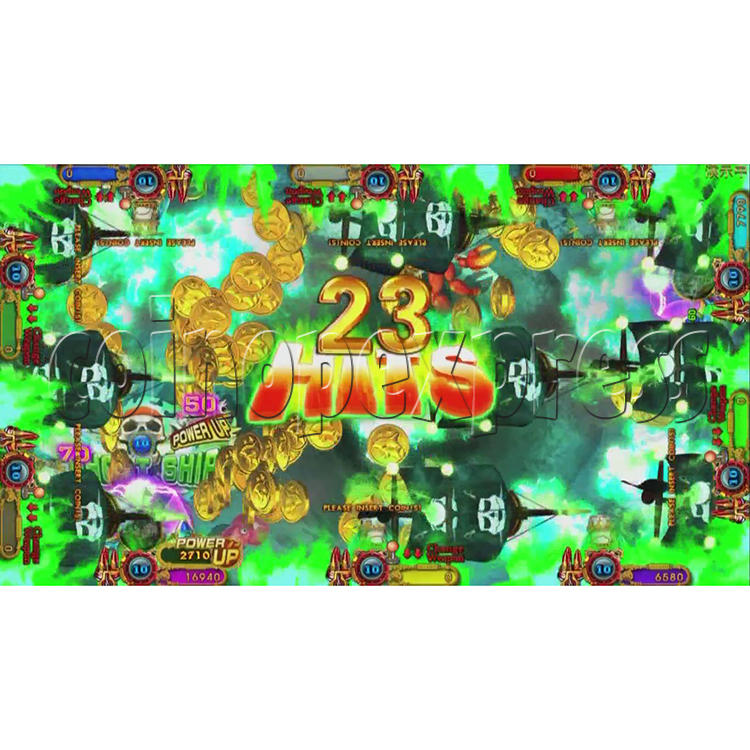Ocean King 3 Plus Blackbeard Fury Game Board Kit China Release Version - screen display-20