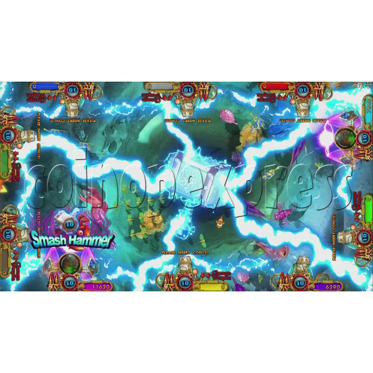 Ocean King 3 Plus Blackbeard Fury Game Board Kit China Release Version - screen display-7