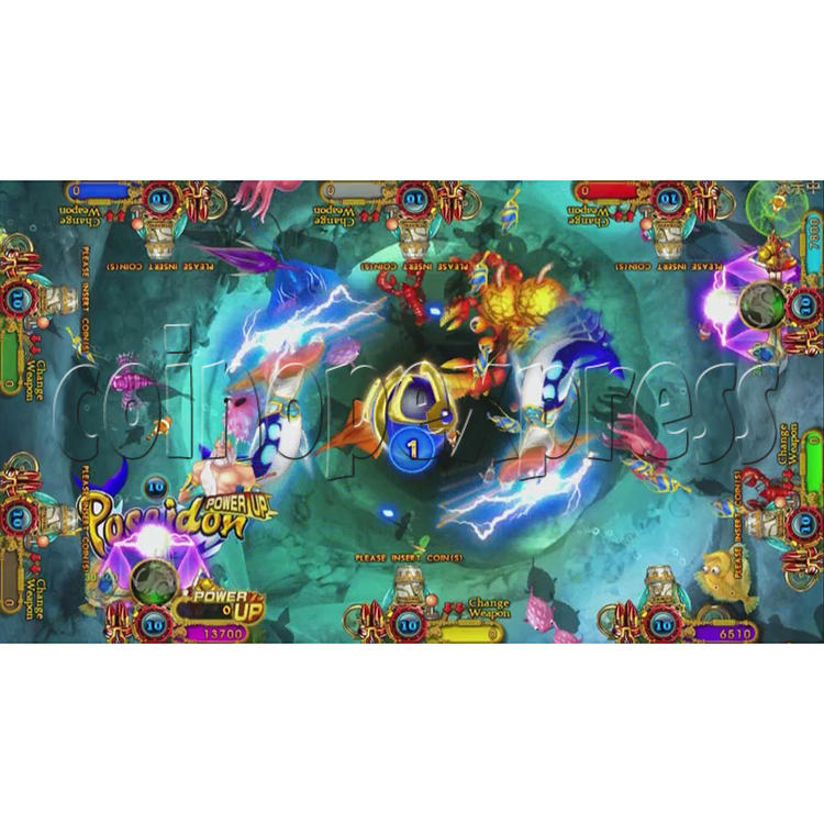 Ocean King 3 Plus Blackbeard Fury Game Board Kit China Release Version - screen display-9