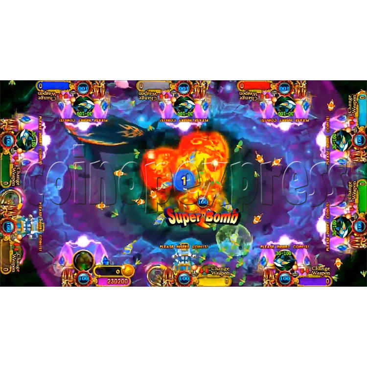 Ocean king 3 plus: Legend of the Phoenix Game board kit (China release) - screen display-15