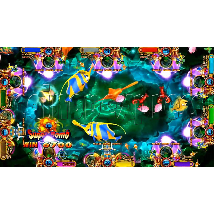 Ocean king 3 plus: Legend of the Phoenix Game board kit (China release) - screen display-7