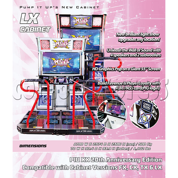 Pump It Up XX 20th Anniversary Software Upgrade Kit 37947